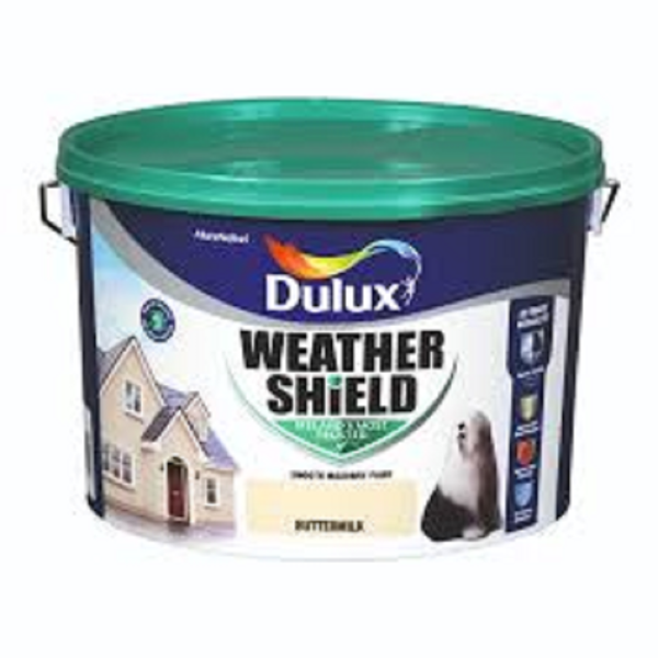 Picture of 10 LITRE DULUX WEATHERSHIELD BUTTERMILK