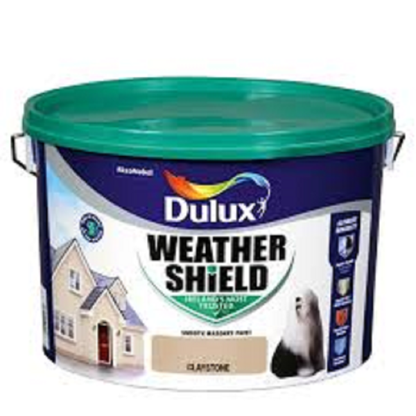 Picture of 10 LITRE DULUX WEATHERSHIELD CLAYSTONE