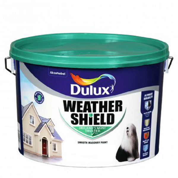 Picture of 10 LITRE DULUX WEATHERSHIELD NEW WOOL