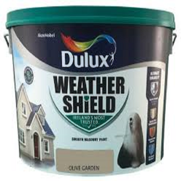 Picture of 10 LITRE DULUX WEATHERSHIELD OLIVE GARDEN