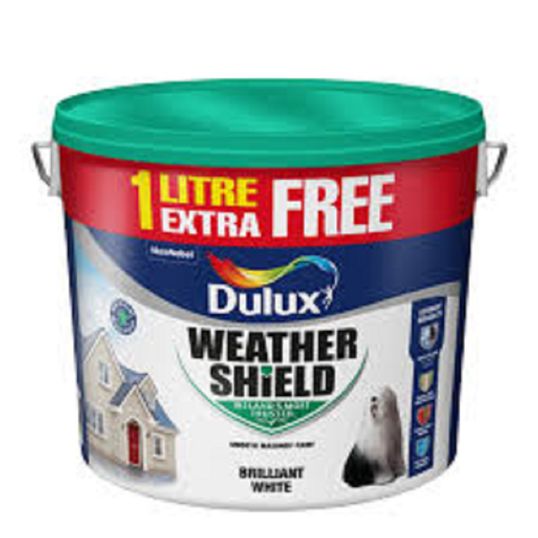 Picture of 11LTR DULUX WEATHERSHIELD PAINT  WHITE