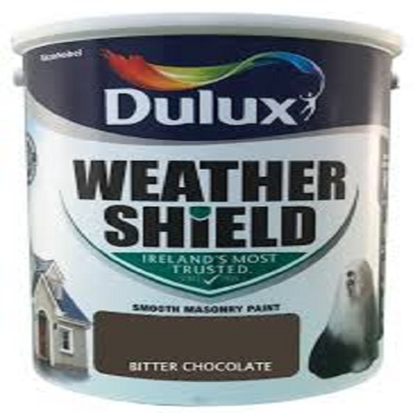 Picture of 5LTR DULUX WEATHERSHIELD BITTER CHOCOLATE
