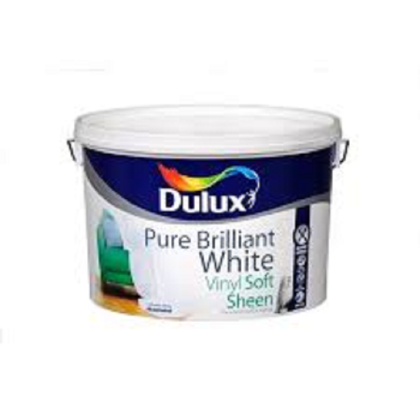 Picture of 10 LITRE DULUX VINYL SOFT SHEEN WHITE