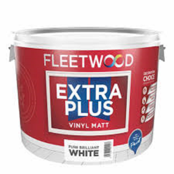 Picture of 10 LITRE FLEETWOOD EXTRA PLUS MATT WHITE