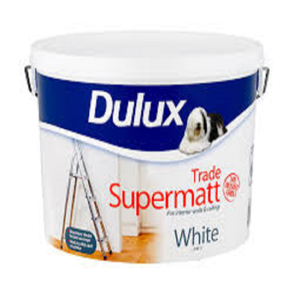 Picture of 10 LTR DULUX SUPERMATT TRADE WHITE
