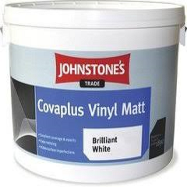 Picture of 10LT JOHNSTONES COVAPLUS  BRILLIANT WHITE