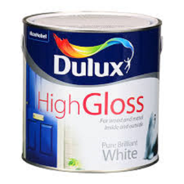Picture of 2.5 LTR DULUX GLOSS WHITE