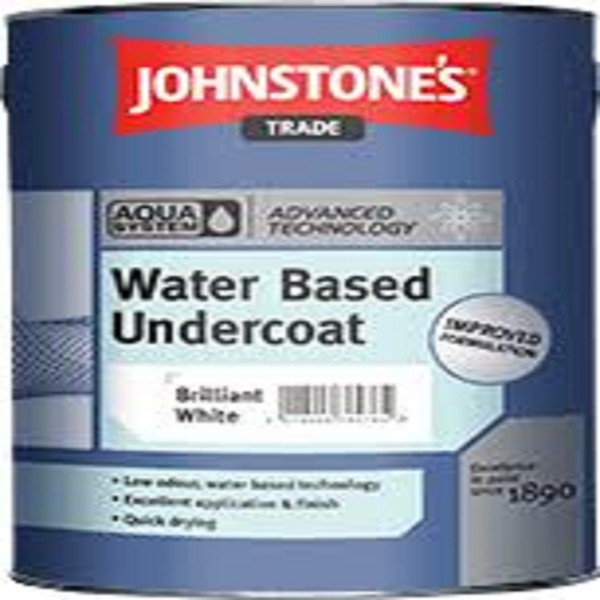 Picture of 2.5LT JOHNSTONES N AQUA WATER BASED UNDERCOAT BRILLIANT WHITE