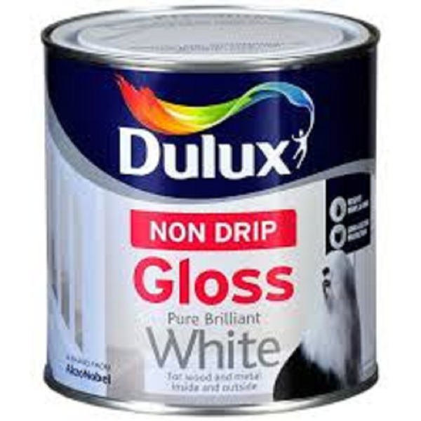 Picture of 2.5LTR DULUX NON-DRIP GLOSS WHITE