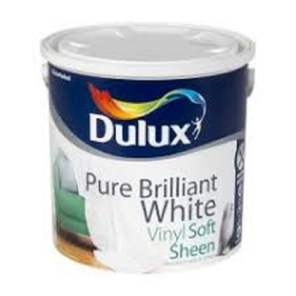 Picture of 2.5LTR DULUX SOFT SHEEN PURE WHITE