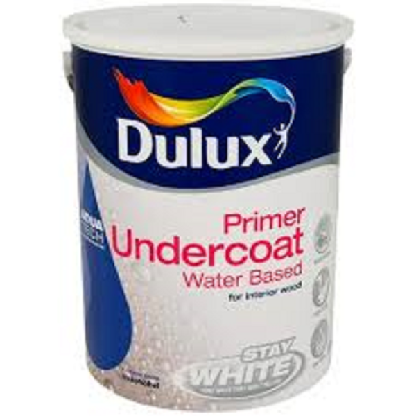 Picture of 5 LITRE DULUX WATER BASED UNDERCOAT BRILLIANT WHITE