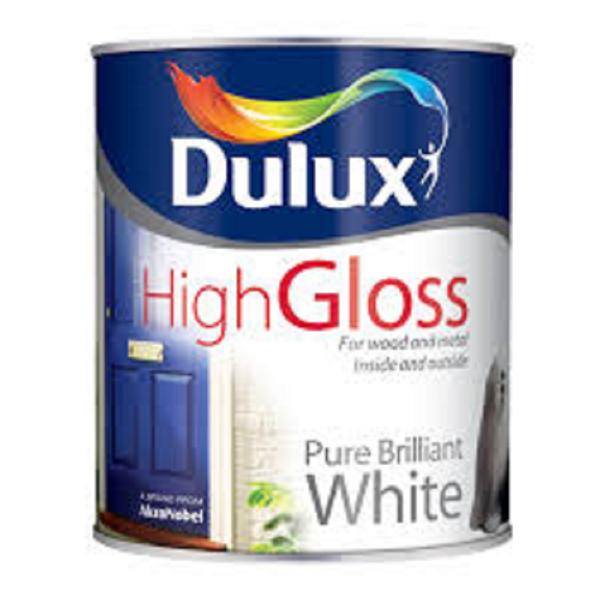 Picture of 5 LTR DULUX  HIGH GLOSS WHITE