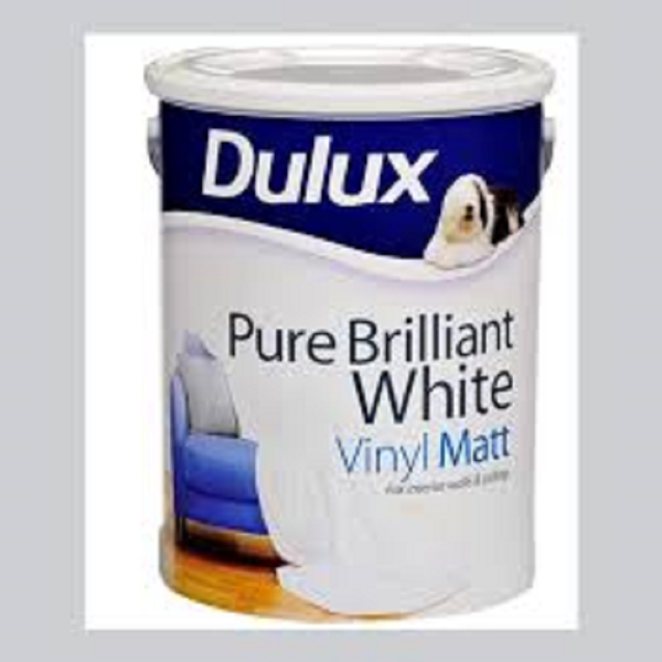 Picture of 5LTR DULUX MATT PURE WHITE