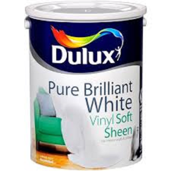 Picture of 5LTR DULUX SOFT SHEEN PURE WHITE