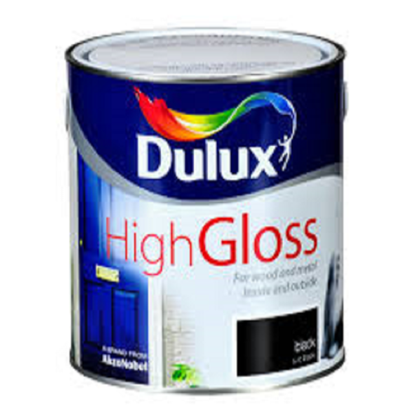 Picture of 750ML DULUX HIGH GLOSS BLACK