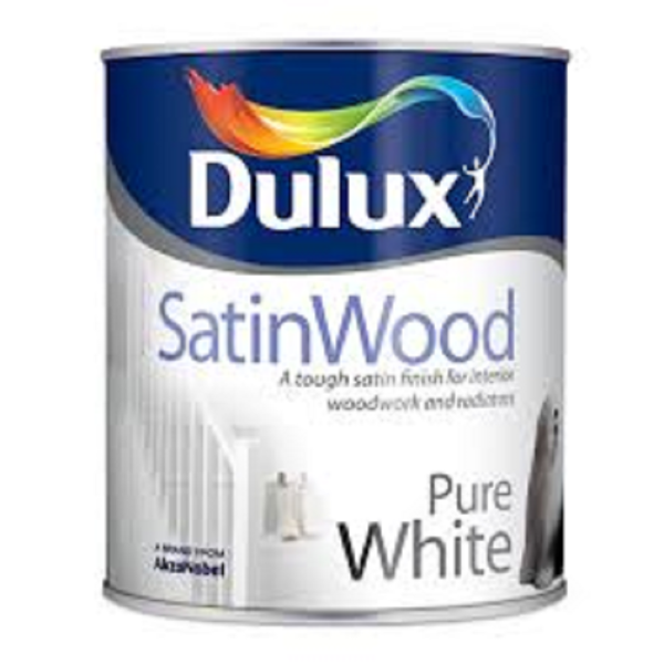 Picture of 750ML DULUX SATINWOOD PURE WHITE