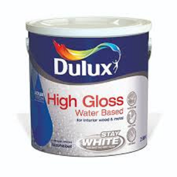 Picture of 750ML DULUX  WATER BASED HIGH GLOSS  WHITE