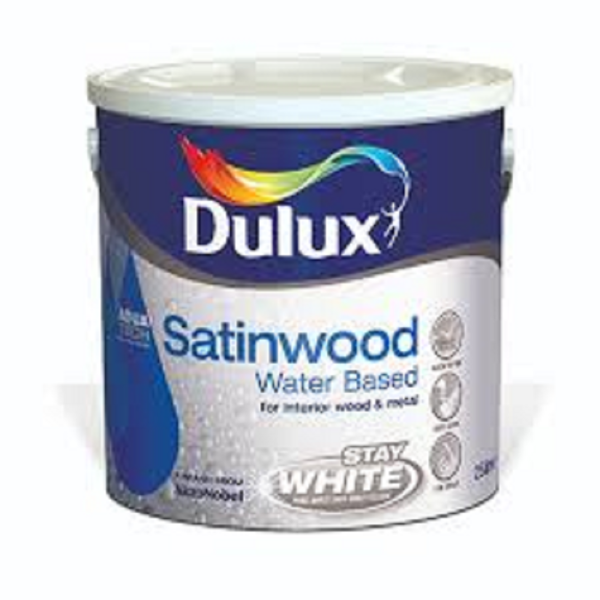 Picture of 750ML DULUX  WATER BASED SATINWOOD WHITE