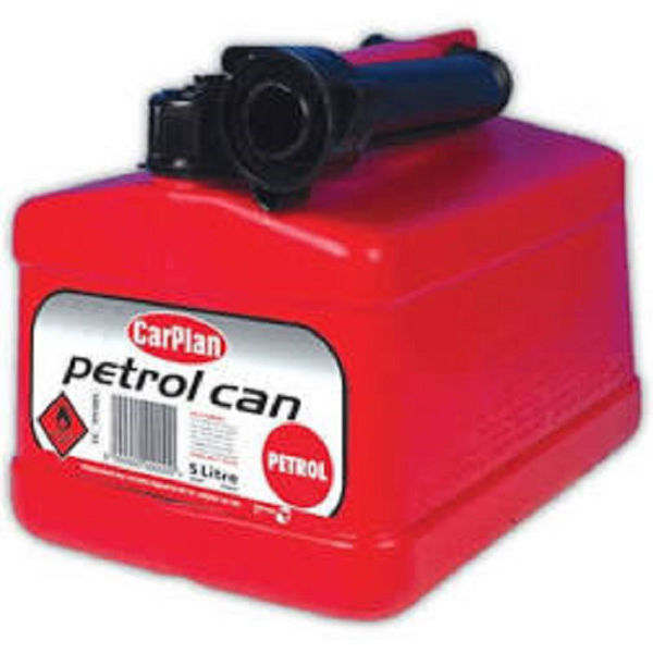 Picture of TETRA PETROL CAN RED 5 LITRE 230159