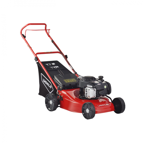 Picture of WJS18H WORLD 46CM PETROL PUSH LAWNMOWER