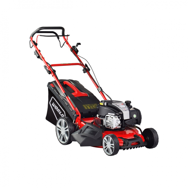 Picture of WJZ18H WORLD 46CM SELF DRIVE LAWNMOWER BATTERY START