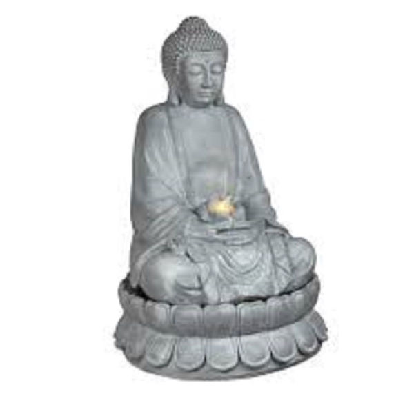 Picture of SITTING BUDDHA WATER FEATURE-STONE