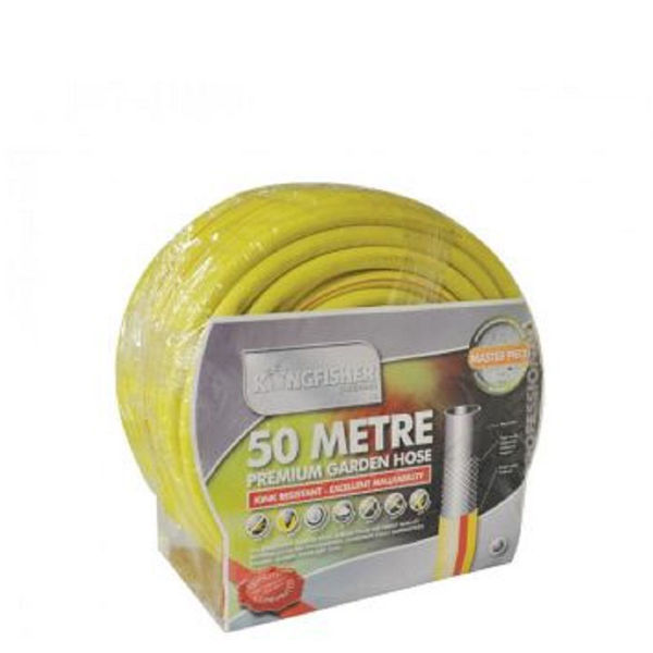Picture of 50M KINGFISHER YELLOW HAMMER  GARDEN HOSE