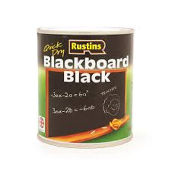 Picture of 500ML RUSTINS QUICK DRYING BLACKBOARD PAINT