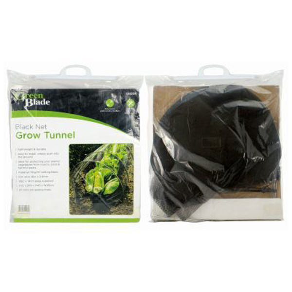 Picture of GREEN BLADE BLACK NET GROW TUNNEL GH306