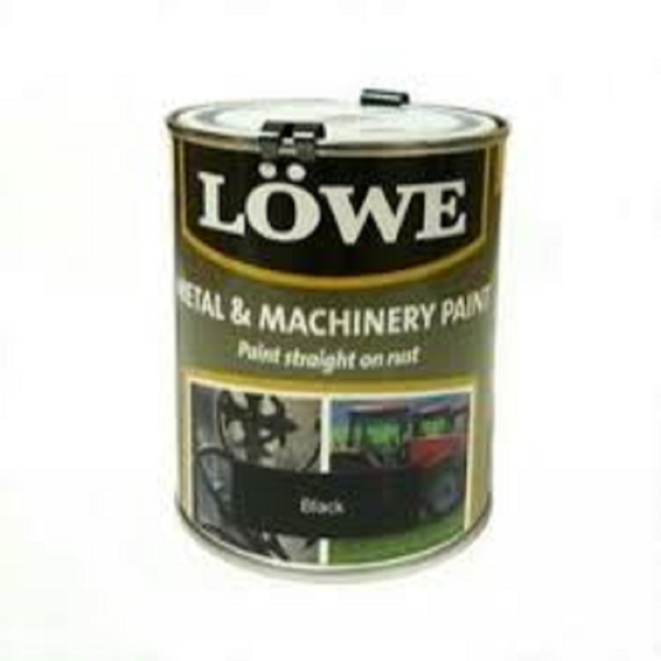 Picture of LOWE MACHINERY BLACK 1LT PAINT