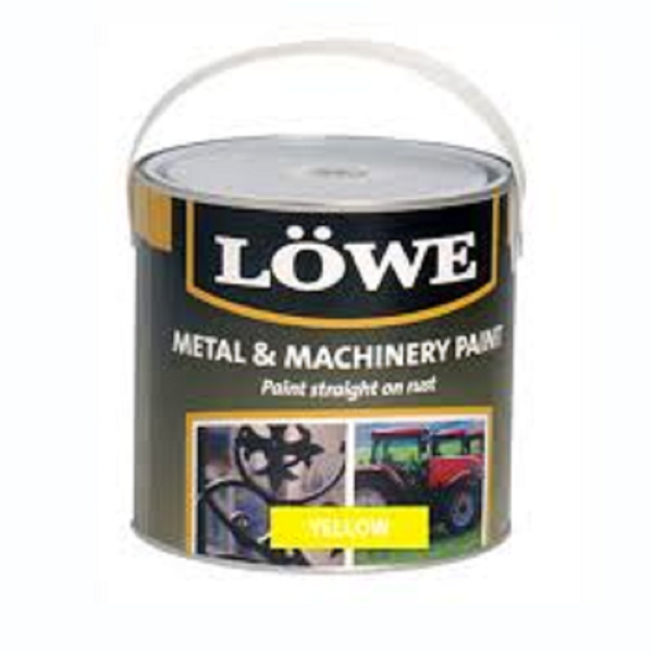 Picture of LOWE MACHINERY YELLOW 1LT PAINT