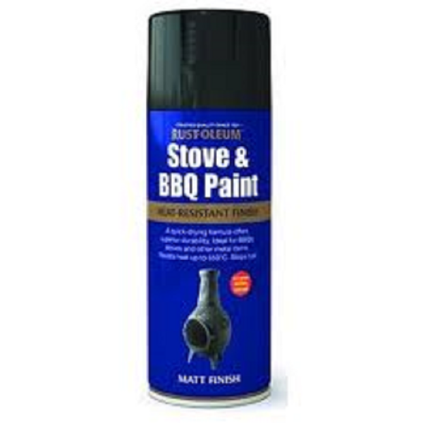 Picture of PAINTERS TOUCH STOVE & BBQ BLACK 400ML