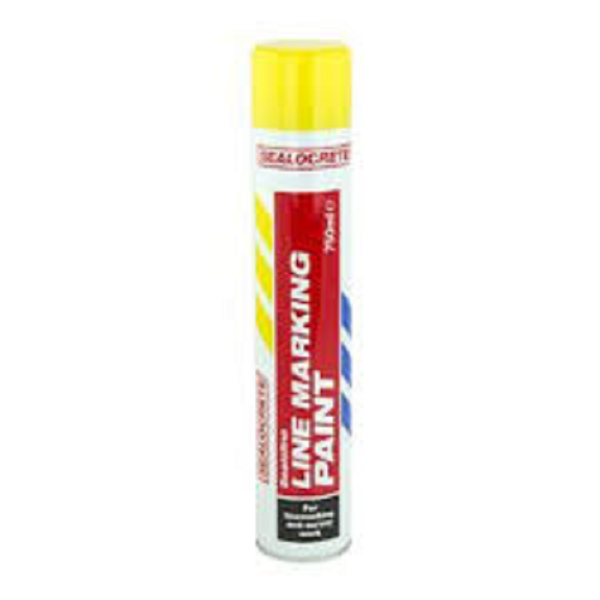 Picture of SEALOCRETE 750ML YELLOW LINE MARKING PAINT
