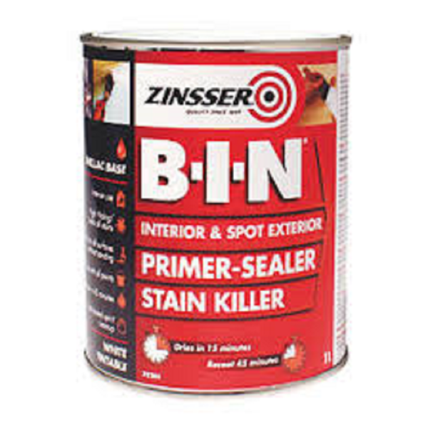 Picture of ZINSSER B-I-N PRIMER SEALER 1L