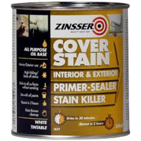 Picture of ZINSSER COVER STAIN 500ML