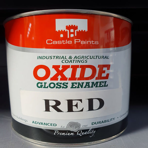 Picture of 1 LITRE CASTLE OXIDE RED