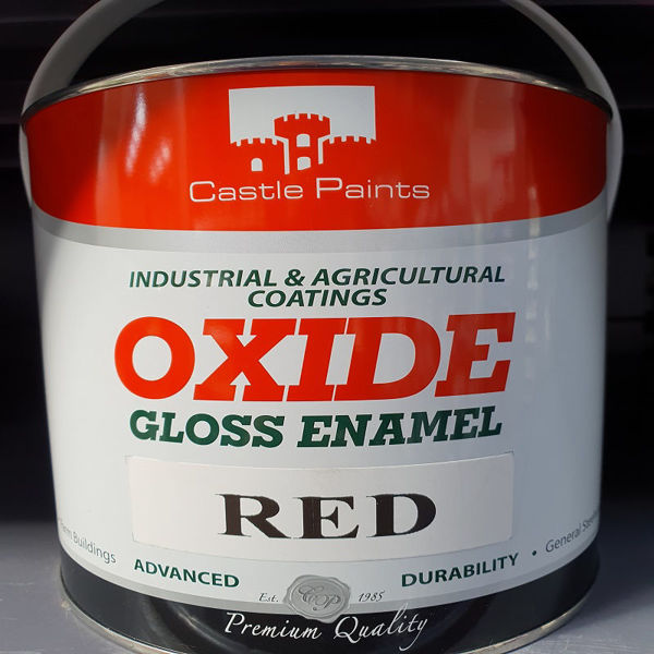 Picture of 2.5 LITRE CASTLE OXIDE RED