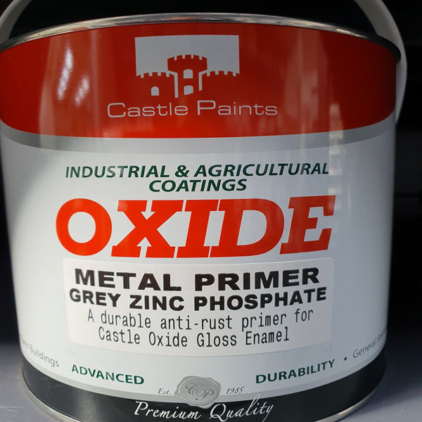 Picture of 2.5LTR OXIDE METAL PRIMER GREY ANTI-RUST