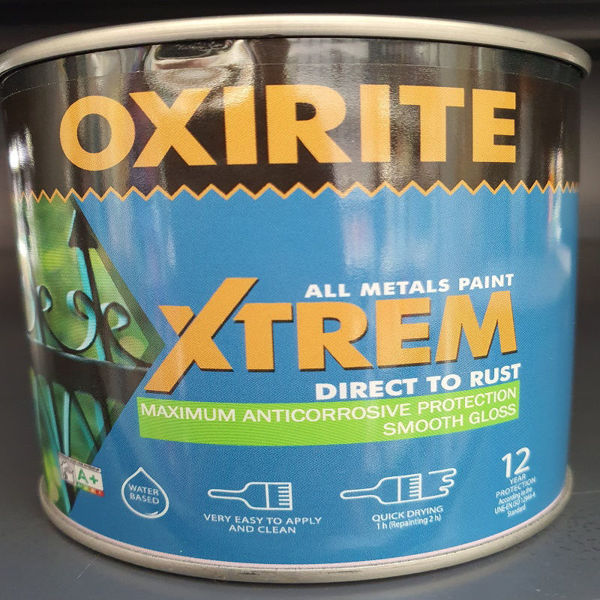Picture of 250ML XTREM METAL PAINT W/BASED  GREY