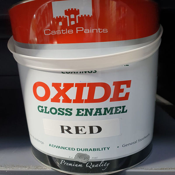 Picture of 5 LITRE  CASTLE  OXIDE RED