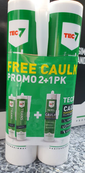 Picture of 3PK TRANS 7 C/W TEC7 CAULK FOC