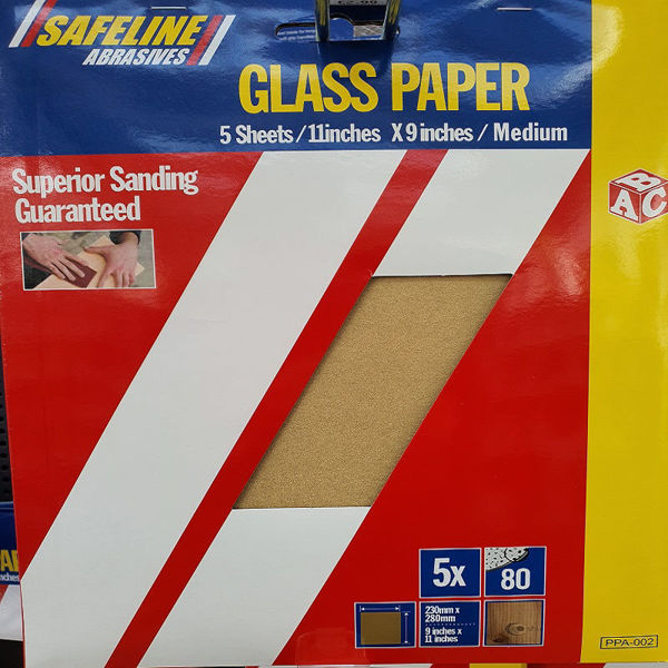 Picture of ABC PRE- PACKED GLASS PAPER SHEETS MEDIUM