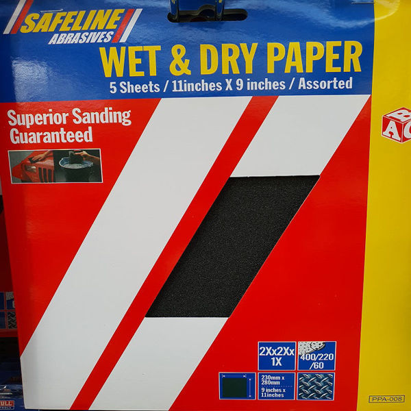 Picture of ABC PRE- PACKED WET & DRY SHEETS ASSORTED