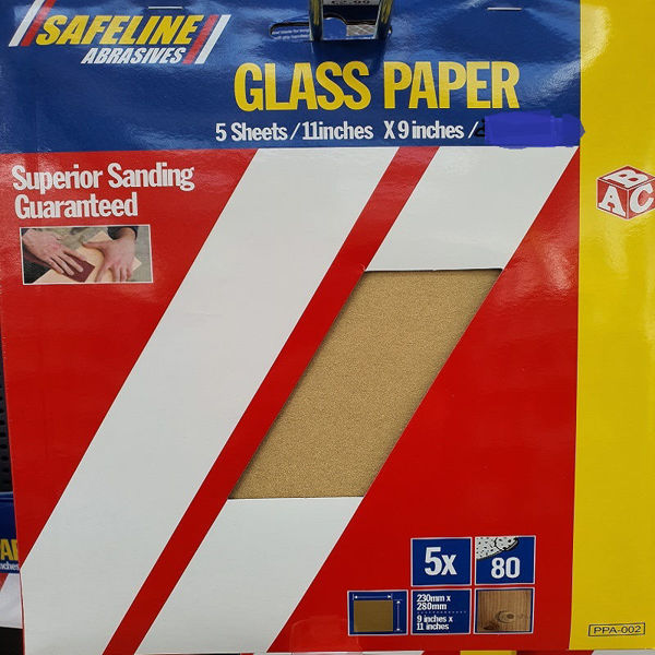 Picture of ABC PRE- PACKED GLASS PAPER SHEETS FINE