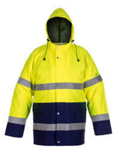 Picture of HYDROWARE ACLIMATEX W/PROOF & BREATHABLE XL HI VIS YELLOW JACKET