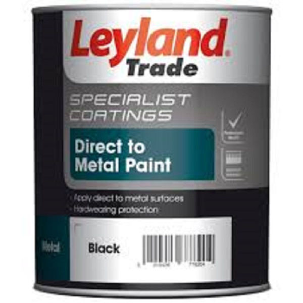 Picture of LEYLAND 2.5LT  DIRECT TO METAL PAINT - BLACK