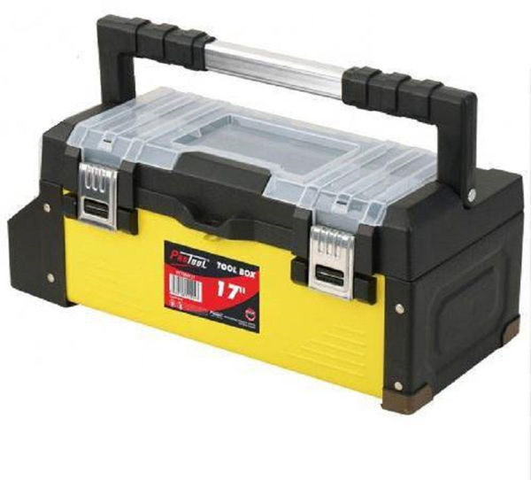 """Picture of PROTOOL 17"""" METAL/PVC TOOLBOX"""