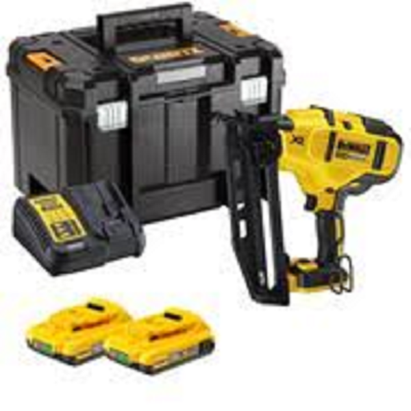 Picture of DEWALT 18V 2ND FIX  NAILER C/W 2 BATTERIES