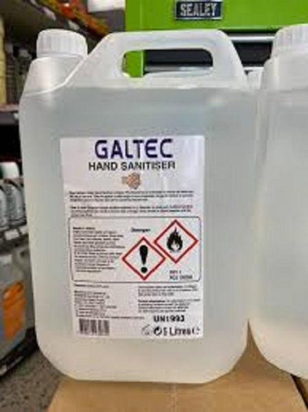 Picture of 5LT GALTEC HAND SANITIZER