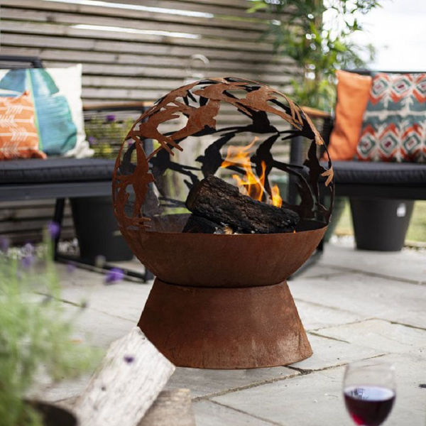 Picture of SWALLOWS FIRE GLOBE FIRE PIT